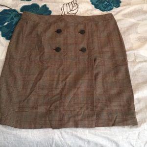 Apostrophe pencil skirt